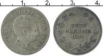 Изображение Монеты Баден 10 крейцеров 1830 Серебро XF Людвиг