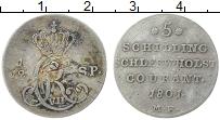 Изображение Монеты Шлезвиг-Гольштейн 1/12 талера 1801 Серебро XF