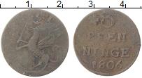 Продать Монеты Померания 3 пфеннига 1776 Медь