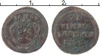 Изображение Монеты Вюртемберг 1 крейцер 1687 Медь VF Герб