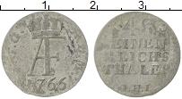 Изображение Монеты Мекленбург-Стрелитц 1/48 талера 1766 Серебро VF LHI