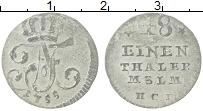 Изображение Монеты Пруссия 1/48 талера 1755 Серебро VF Фридрих II
