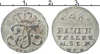 Изображение Монеты Пруссия 1/48 талера 1760 Серебро VF Фридрих II