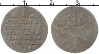Изображение Монеты Мекленбург-Шверин 1 шиллинг 1810 Серебро VF Вензель