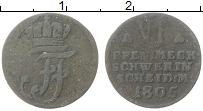 Изображение Монеты Мекленбург-Шверин 6 пфеннигов 1805 Серебро VF