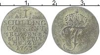Изображение Монеты Мекленбург-Шверин 1 шиллинг 1763 Серебро VF