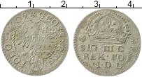 Изображение Монеты Польша 1 грош 1609 Серебро XF Сигизмунд III