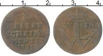 Изображение Монеты Гессен-Кассель 1 хеллер 1755 Медь VF