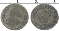 Изображение Монеты Пруссия 1 крейцер 1754 Серебро VF Для Силезии Фридрих