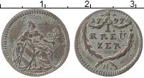 Изображение Монеты Нюрнберг 1 крейцер 1797 Серебро XF N