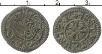 Продать Монеты Нюрнберг 1 крейцер 1647 Серебро