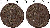 Изображение Монеты Болонья 1/2 болоньино 1713 Медь XF Климент XI