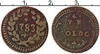 Изображение Монеты Италия Модена 1 сольдо 1783 Медь XF