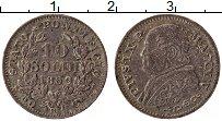 Изображение Монеты Ватикан 10 сольди 1869 Серебро XF