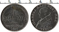 Изображение Монеты Ватикан 100 лир 1962 Железо UNC Иоанн XXIII. Второй