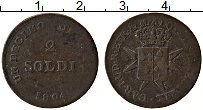 Изображение Монеты Тоскана 2 сольди 1804 Медь XF Герб