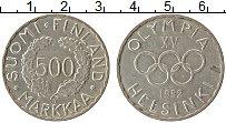 Изображение Монеты Финляндия 500 марок 1952 Серебро XF