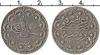 Изображение Монеты Турция 5 куруш 1909 Серебро XF