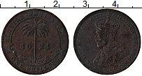 Изображение Монеты Западная Африка 1 шиллинг 1924 Латунь VF Георг V