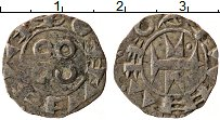 Изображение Монеты Франция 1 денье 0 Серебро XF Графство Мельгель