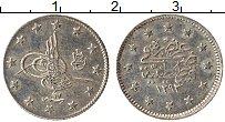 Изображение Монеты Турция 2 куруша 1891 Серебро XF 1397/17
