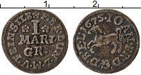 Изображение Монеты Брауншвайг-Люнебург 1 марьенгрош 1675 Серебро VF