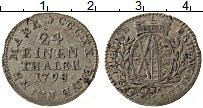 Изображение Монеты Саксония 1/24 талера 1798 Серебро XF Герб