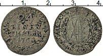 Изображение Монеты Саксония 1/24 талера 1764 Серебро VF Герб