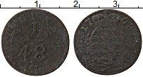 Изображение Монеты Саксония 1/48 талера 1708 Серебро VF Герб