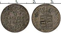 Изображение Монеты Саксе-Мейнинген 3 крейцера 1840 Серебро VF Герб