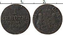 Продать Монеты Саксе-Мейнинген 1 крейцер 1808 Серебро