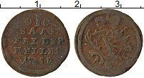 Изображение Монеты Саксе-Кобург-Саалфельд 1 хеллер 1758 Медь VF Герб