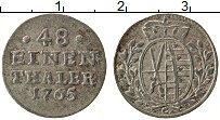 Изображение Монеты Саксония 1/48 талера 1765 Серебро XF