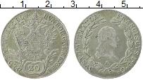 Изображение Монеты Австрия 20 крейцеров 1808 Серебро XF А Франц I