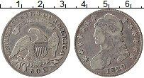 Изображение Монеты США 50 центов 1829 Серебро XF