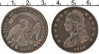 Изображение Монеты США 50 центов 1836 Серебро XF Свобода