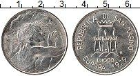 Изображение Монеты Сан-Марино 1000 лир 1979 Серебро XF Европейский союз
