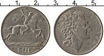 Изображение Монеты Албания 1 лек 1930 Медно-никель XF