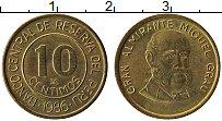 Изображение Монеты Перу 10 сентим 1986 Латунь XF
