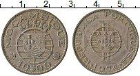 Изображение Монеты Мозамбик 10 эскудо 1974 Медно-никель XF Португальская колони