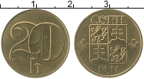 Продать Монеты Чехословакия 20 хеллеров 1992