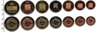 Изображение Наборы монет Центральная Америка Центральная Америка - Мундо Майя 2012 2012  UNC-