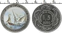 Изображение Монеты Испания 1,5 евро 2019 Медно-никель UNC