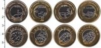 Изображение Наборы монет Лапландия Лапландия 2015 2015 Биметалл UNC