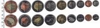 Изображение Наборы монет Саба Саба 2013 2013  UNC- В наборе 9 монет ном