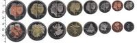 Изображение Наборы монет Бонайре Бонайре 2011 2011  UNC В наборе 8 монет ном