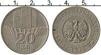 Изображение Монеты Польша 20 злотых 1973 Медно-никель XF