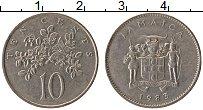 Изображение Монеты Ямайка 10 центов 1983 Медно-никель XF