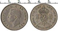 Изображение Монеты Великобритания 2 шиллинга 1948 Медно-никель XF