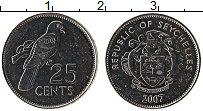 Изображение Монеты Сейшелы 25 центов 2007 Медно-никель UNC-